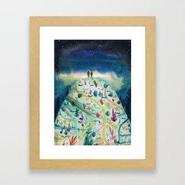 Love and Magic Framed Art Print