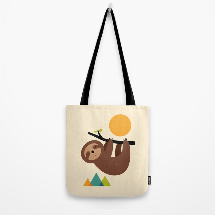 Keep Calm And Live Slow Tote Bag