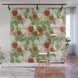 Strawberry. Wall Mural