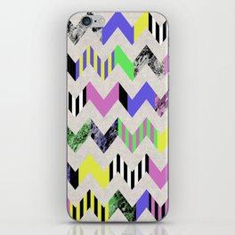 Crazy Zig Zags iPhone Skin