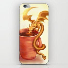 A drink for a dragon iPhone Skin