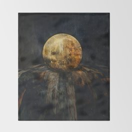 Planetary Soul Hyperion Throw Blanket
