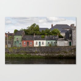 Irish Cottages Canvas Print