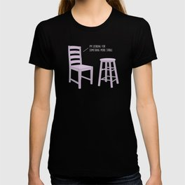 Something More Stable #kawaii #chair T-shirt