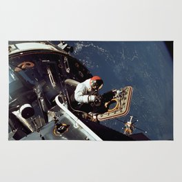 Apollo 9 - Spacewalk Rug