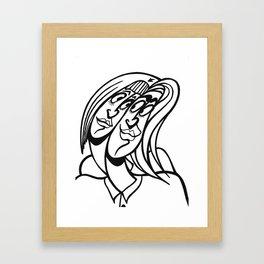 ★~(◡﹏◕✿) Framed Art Print