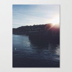 Sunset Reconciliation Canvas Print