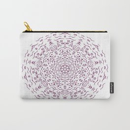 Purple design Carry-All Pouch