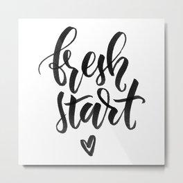 Fresh Start Metal Print