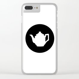 Teapot Clear iPhone Case