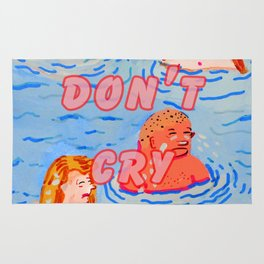 Boys don't cry alone Rug