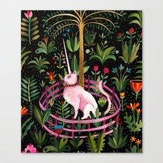 Unicorncat Canvas Print