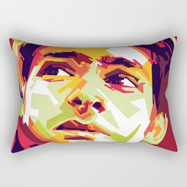 WPAP - Andrew Garfield Rectangular Pillow