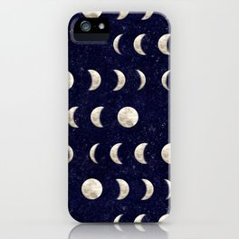Moon Phase - Galaxy iPhone Case