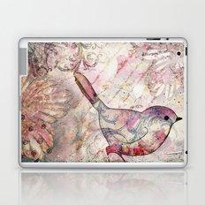 Sweet autumn birdie Laptop & iPad Skin
