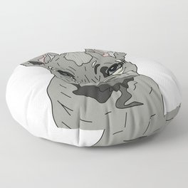 Frenchie Bulldog Puppy Floor Pillow