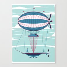 Sky Cycle Canvas Print