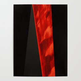 red shape Poster