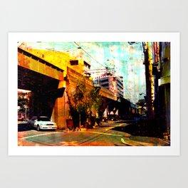 Nagoya_11 Art Print