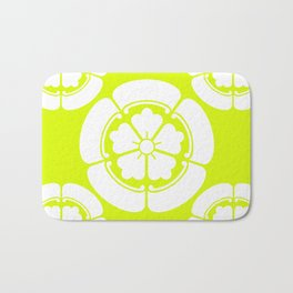 Samurai-Oda family Crest version2 Bath Mat