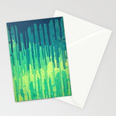 Green Grunge Color Splatter Graffiti Backstreet Wall Background Stationery Cards