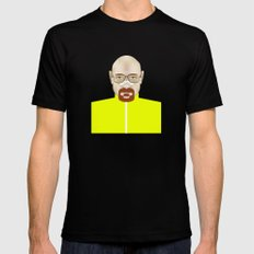 Walter White Mens Fitted Tee Black MEDIUM