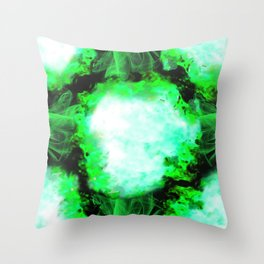 Mind Explosion by B Throw Pillow