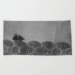 The Ancient Sea Beach Towel