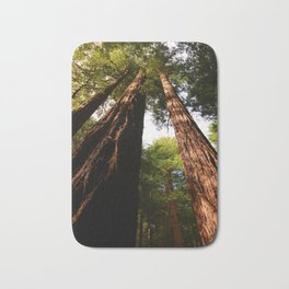 Redwood Tree Tops Bath Mat