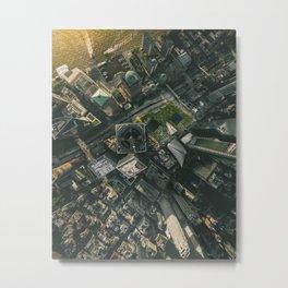 9/11 Memorial Sites Metal Print