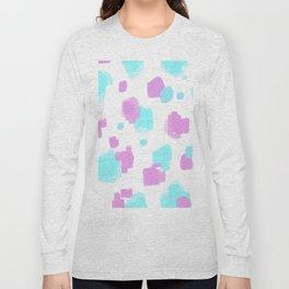 transgender pride dots Long Sleeve T-shirt