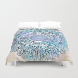 It's a glorious day, Buttercup Duvet Cover