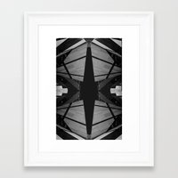 funky Framed Art Prints featuring funky by Michael Rosen