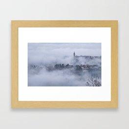 Serene morning Framed Art Print