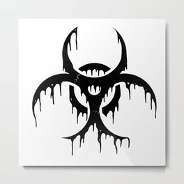 Outbreak Metal Print
