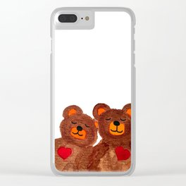 Bears Clear iPhone Case