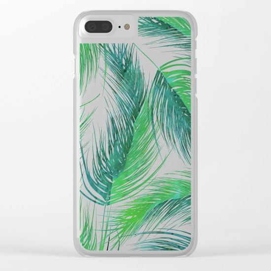 Bed Head Palm | #society6 #decor #buyart Clear iPhone Case