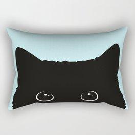 Black cat I Rectangular Pillow
