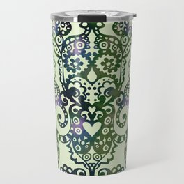Baroque Own Style Doodle in olive Travel Mug