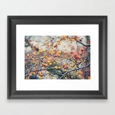 Autumn Poison Framed Art Print