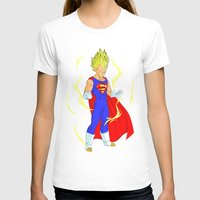 vegeta T-shirts featuring SUPER VEGETA by Javier Guijarro