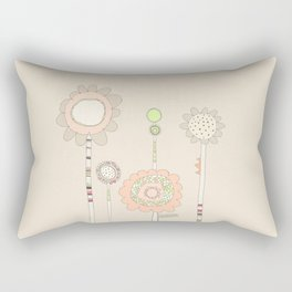 Little Daisies Rectangular Pillow