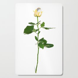 Yellow Rose (Color) Cutting Board