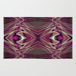 Interrupted Lines Mirror Pattern 2 Rug