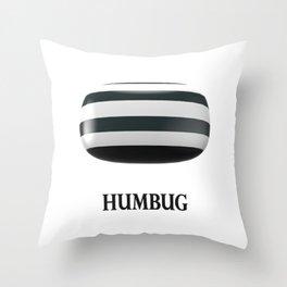 Humbug Throw Pillow