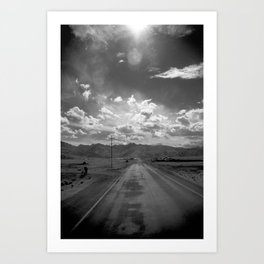 Roadtrip NO2 Art Print