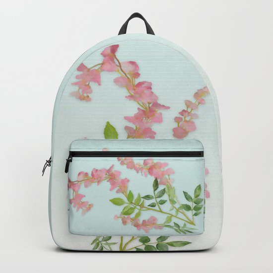 Pink Tiny Flowers Backpack