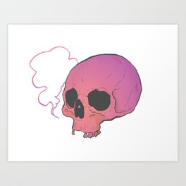 PNK AS FK Art Print