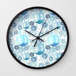 Dreidel  Wall Clock