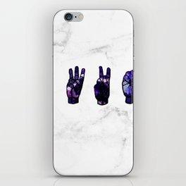 ASL Clint Barton iPhone Skin